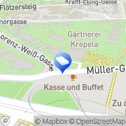 Karte Blumen Krepela GmbH Wien, Österreich