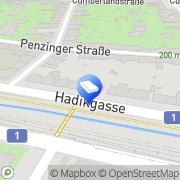 Karte MMG SteuerBeratung Morawetz & Grabner OG Wien, Österreich