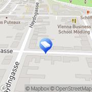 Karte Elektro Stickler GesmbH Mödling, Österreich
