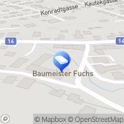 Karte BM Fuchs GmbH Klosterneuburg, Österreich