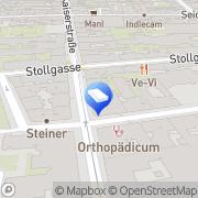 Karte CON.ECT Eventmanagement Wien, Österreich