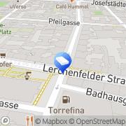 Karte LRG Sanierungs und Vermietungs Wien, Österreich