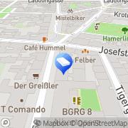 Karte Maschke & Bayerl Wien, Österreich