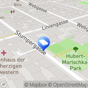 Karte A2K Architekten Janes Rapf Ziviltechniker Wien, Österreich