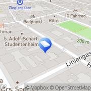 Karte Kiekenap Architekten ZT Wien, Österreich