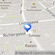 Karte Majarek Karl - freischaffender Baukünstler Wien, Österreich