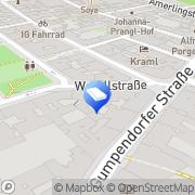Karte christa muhr - INNENARCHITEKTUR & BAUCOACHING Wien, Österreich
