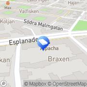 Karta Manpower Student AB Kalmar, Sverige