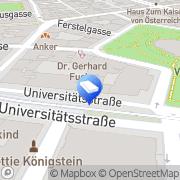 Karte STEPHAN BRIEM Rechtsanwalt GmbH Wien, Österreich