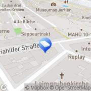 Karte project-m Wien, Österreich