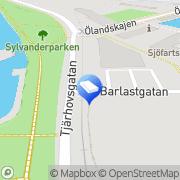 Karta LR-Installation AB Kalmar, Sverige