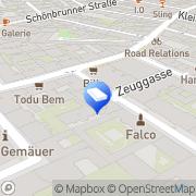 Karte Bernd Rossbacher Wien, Österreich