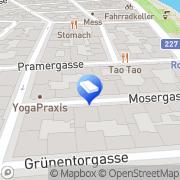 Karte Anker-Immobilien Wien, Österreich