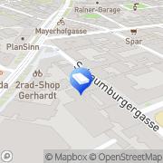 Karte Lugeck Immobilien Wien, Österreich