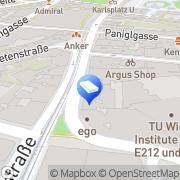 Karte Jabornegg Christian Dipl.Ing & Palffy Andras Dipl.Ing Wien, Österreich