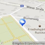 Karte Ruzicka Martin - Friedhofsgärtnerei Langenzersdorf, Österreich