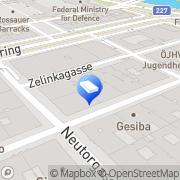 Karte CUUBUUS architects Ziviltechniker Wien, Österreich