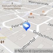 Karte LINDLPOWER PERSONALMANAGEMENT GmbH Wien, Österreich
