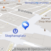 Karte Clinics By Design Wien, Österreich