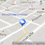 Karte Beisel Walter Wien, Österreich