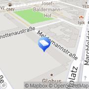 Karte PPSG Private + Public Service GmbH Wien, Österreich