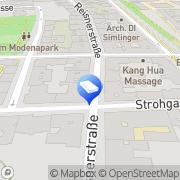 Karte Roland Gareis Consulting Wien, Österreich