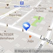 Karte ImmoTech Immobilientreuhand- u Bauträger Wien, Österreich