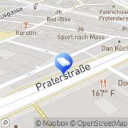 Karte Architekt MOOSMANN Ziviltechniker Wien, Österreich