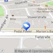 Karte ENTERprise ZT Wien, Österreich