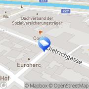 Karte PlanetHome Immobilien Wien, Österreich