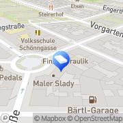 Karte Schnell Günther Mag - Akademischer Immobilienberater u Liegenschaftsmanager Wien, Österreich