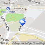 Map netstorage Hosting und Domains Vienna, Austria