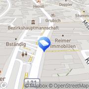 Karte Dr. Kraml & Partner Immobilienentwicklungs Mistelbach, Österreich