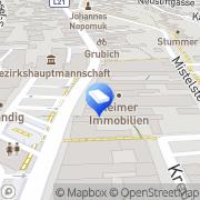 Karte IMMO-CONTRACT Makler GesmbH Mistelbach, Österreich