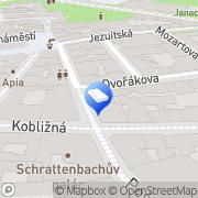 Map Charvát Aleš Mgr. - advokát Brno, Czech Republic