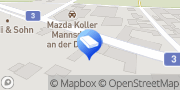 Karte e.t.u. Elektrotechnik Unger GmbH Mannsdorf an der Donau, Österreich
