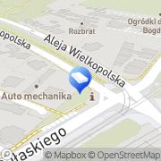 Mapa Sienicka-Paryzek Izabela, radca prawny Poznań, Polska