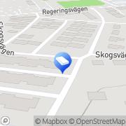 Karta Riksbyggens Brf Nyköpingshus Nr 10 Nyköping, Sverige