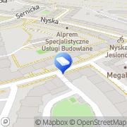 Mapa Noix-Hyper Digital Studio Wrocław, Polska