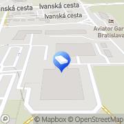 Map ReMax Courier Service s.r.o. Bratislava, Slovakia