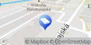 Map Bytservis Bratislava, Slovakia