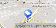 Map Pohřební služba MISERICORDIA s.r.o. Olomouc, Czech Republic