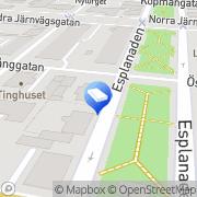 Karta Sundsvallshem Fastigheter&förvaltning AB Sundsvall, Sverige
