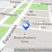 Karta RENTAV Städ och Miljövård AB Sundsvall, Sverige