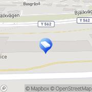 Karta Sundsvalls Värme & Sanitet AB Sundsvall, Sverige