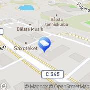 Karta Bålsta Revisionsbyrå Bålsta, Sverige
