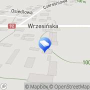 Mapa Trans-Cargo Węgierki, Polska