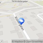 Karta Rödmyrans Förskola Uppsala, Sverige