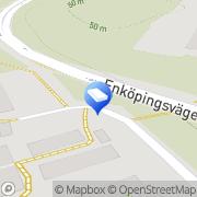Karta B.B.I.J Byggkonsult i Järfälla Kallhälls Villastad, Sverige