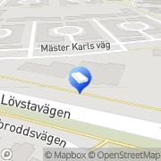 Karta Beijer Byggmaterial AB Hässelby, Sverige